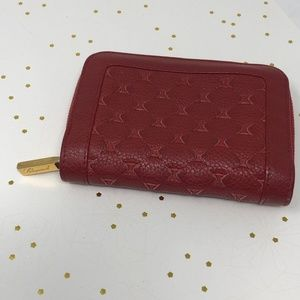 Chopard 150th Anniversary Red Leather Wallet